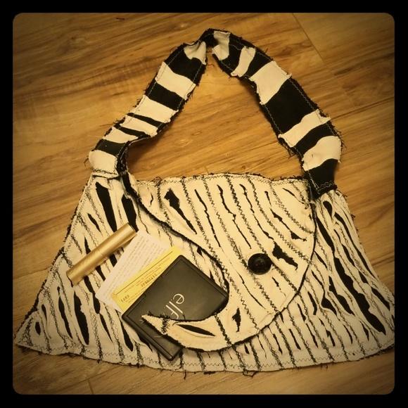 Handmade Handbags - Handmade Tim Burton Shoulder Bag/Mini Purse